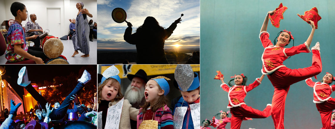 Americans Celebrate the Holidays with Diverse Traditions