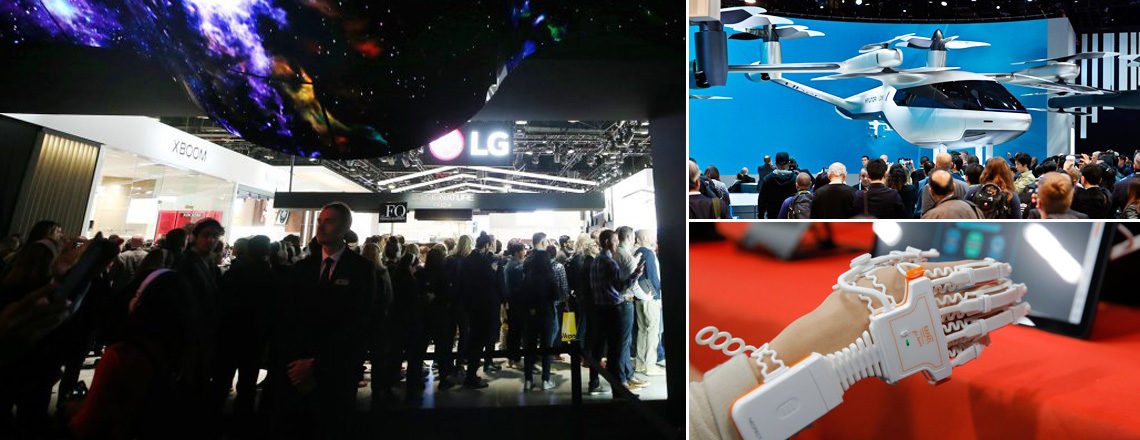 Breakthroughs and Gadgets at a U.S. Tech Show