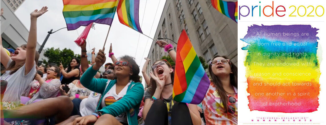 Celebrate LGBTI Pride Month in June