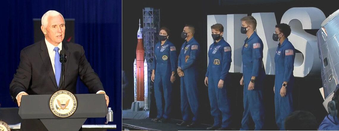 アルテミス計画に18名の宇宙飛行士を選抜