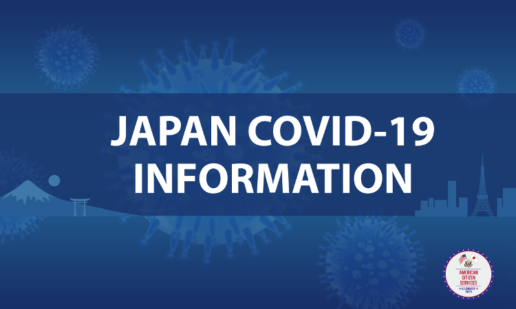 Covid 19 Information U S Embassy Consulates In Japan