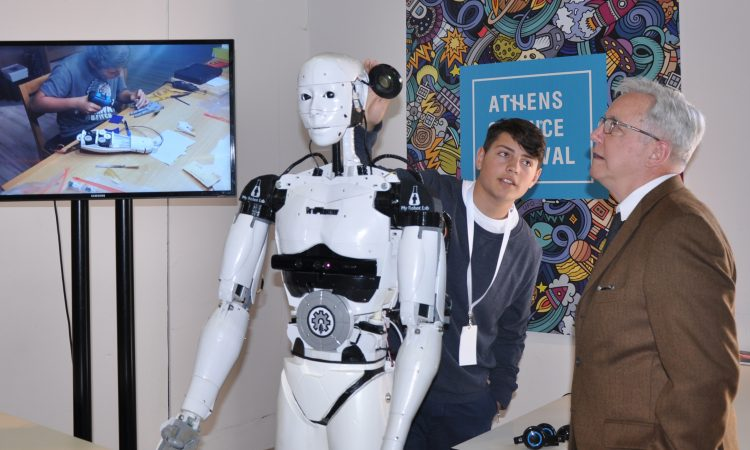 Ambassador Pearce at Athens Science Festival (State Department Photo)