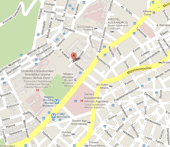Google Map for Consular Address
