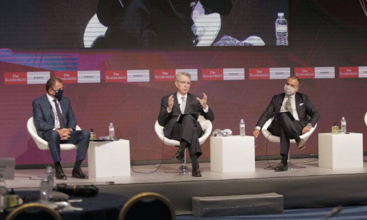 Ambassador Pyatt at the Economist Conference (State Department Photo)