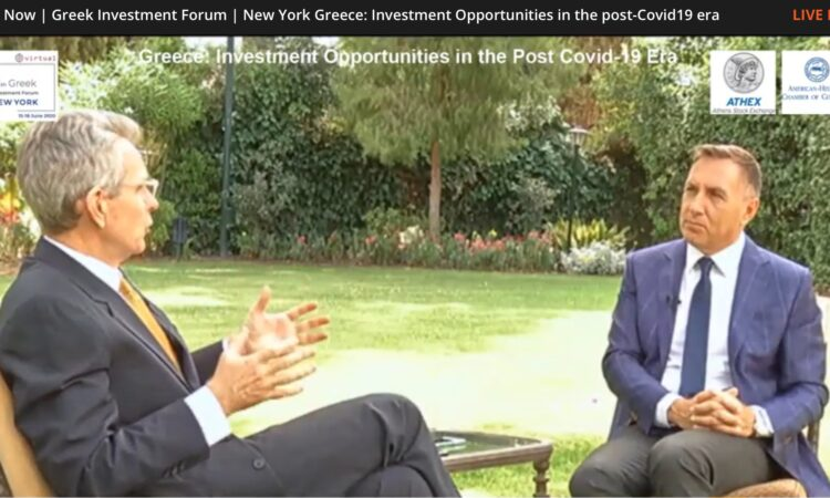 Ambassador Pyatt in Conversation with ERT Fanis Papathanasiou (Screenshot)