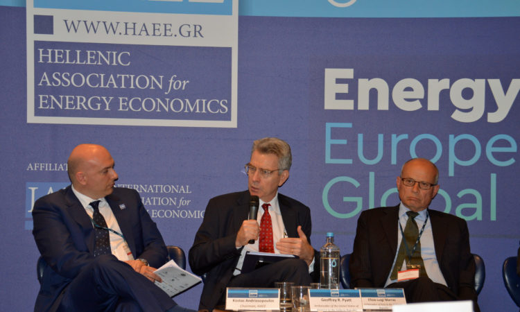 Ambassador Pyatt at the HAEE Conference (State Department Photo)