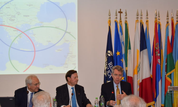 Ambassador Pyatt at the EPLO (State Department Photo)