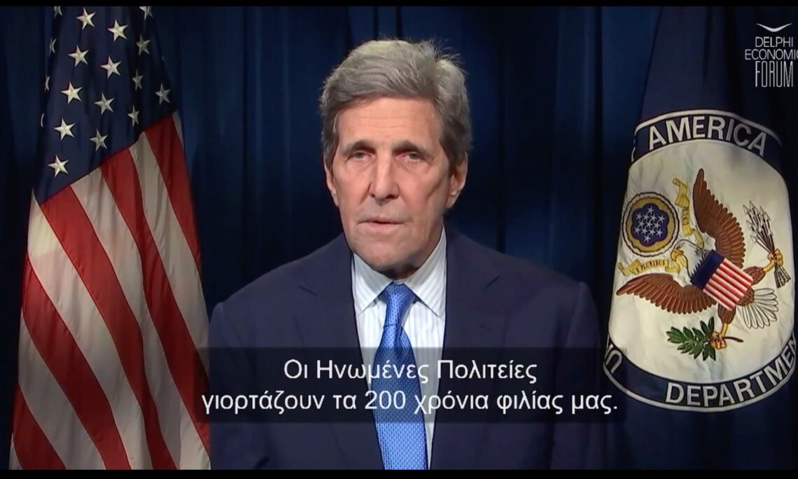 Special Envoy for Climate Kerry at DEF