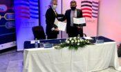 Ambassador Pyatt at MOU signing in Thessaloniki