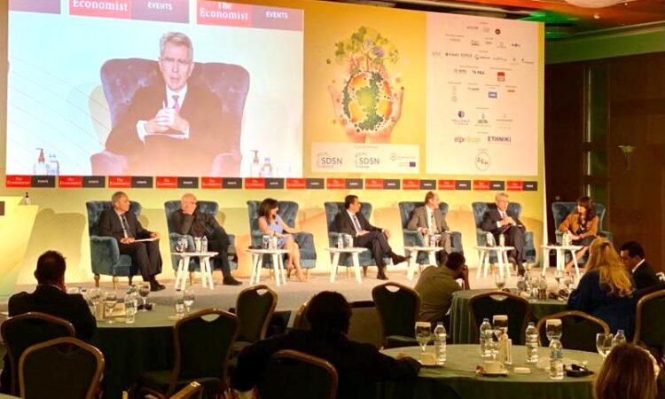 Ambassador Pyatt at the Economist Conference Panel, September 30, 2021
