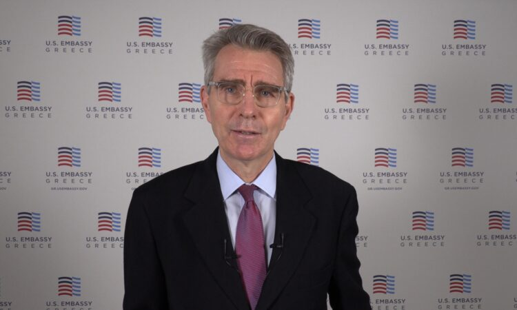 Ambassador Pyatt addresses THI annual Gala (Screenshot)