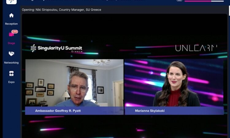 SingularityU Summit (screenshot)