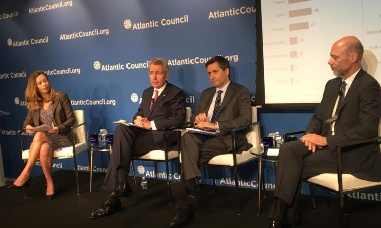 Ambassador Pyatt at the Atlantic Council