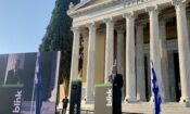Ambassador Pyatt at Blink Event at Zappeion
