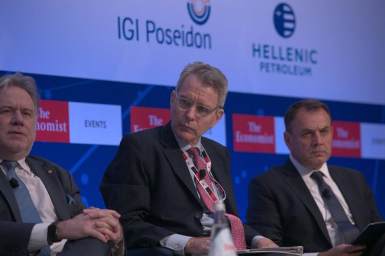Ambassador Pyatt at Economist conference, July 17, 2019 (Photo Credits: Stavros Giannoulis)