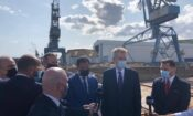 Ambassador Pyatt at Elefsina Shipyards