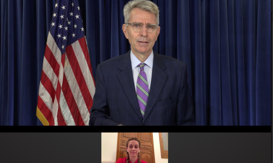 Ambassador Pyatt delivers remarks at the Launch of FEmpowerment Initiative