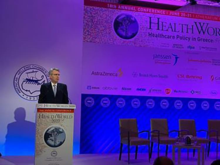 Ambassador Pyatt's Remarks at AmCham HealthWorld Conference 2019