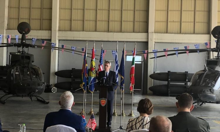 Ambassador Pyatt's Remarks at Stefanovikio (State Department Photo)