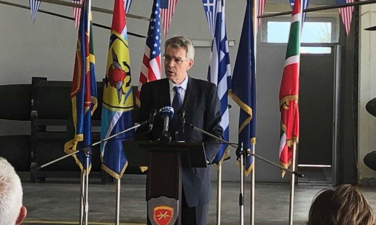 Ambassador Pyatt's Press Statement at Kiowa delivery celebration in Stefanovikio
