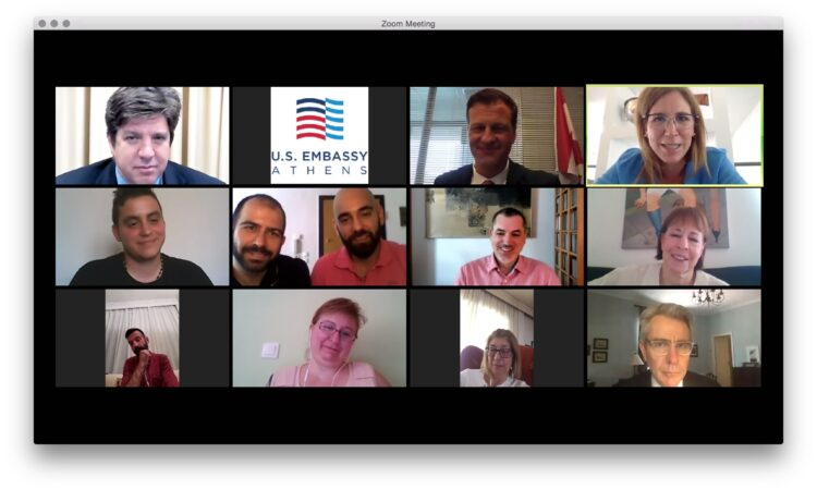 Ambassador's Remarks at Virtual Roundtable for Pride Month