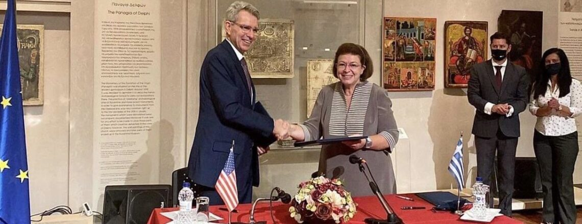 Signing of MOU for the Protection of Cultural Heritage between the U.S. and Greece