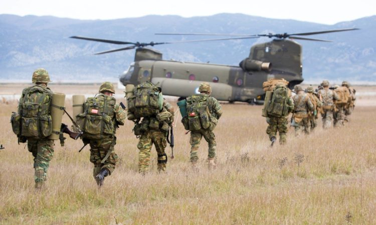 """Alexander the Great"" military exercise in Volos"