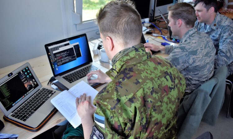 Maryland National Guard exercises Cyber Awareness with Estonian Defenses