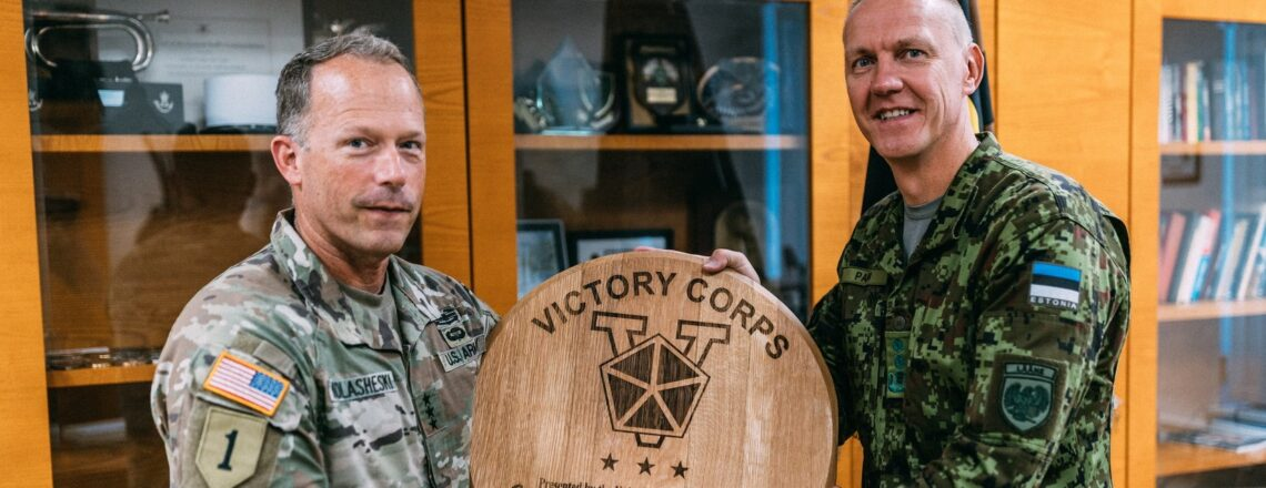 Commanding General of U.S. Army V Corps Highlights U.S.-Estonia Defense Cooperation