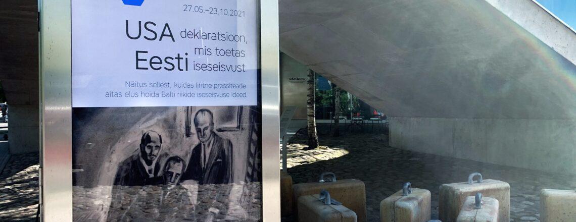 Uus USA-Eesti suhete olulisi hetki jäädvustav näitus