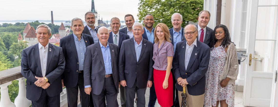 Ameerika Ühendriikide Kongressi delegatsioon toetab USA ja Eesti tugevat partnerlust