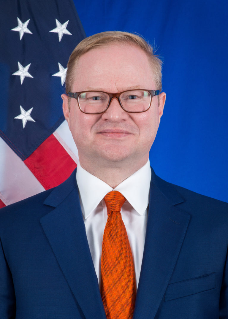 Photo of Chargé d'Affaires Brian Roraff