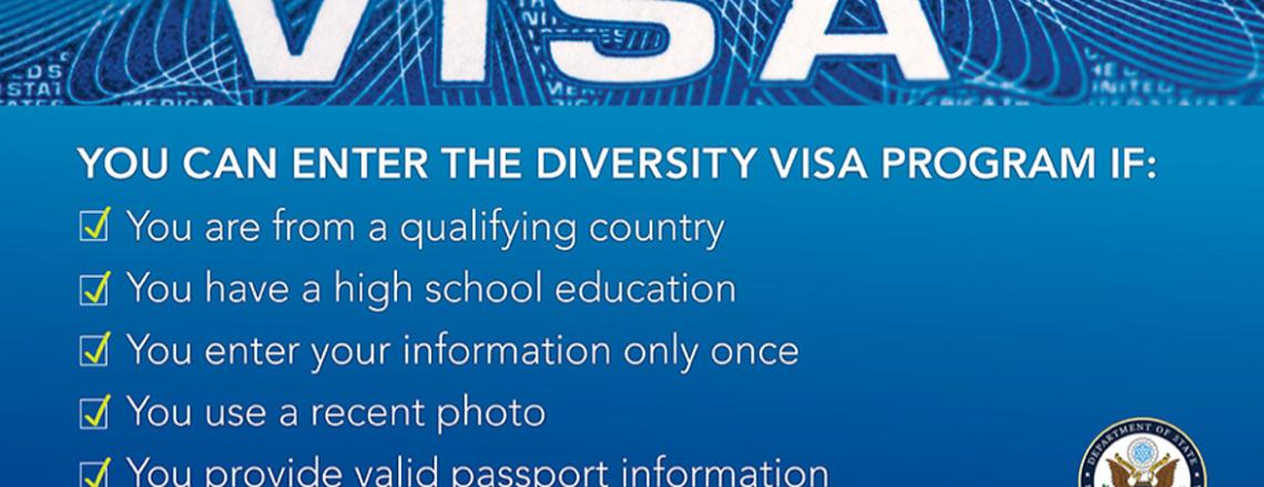 Diversity Visa (DV) programm on avatud