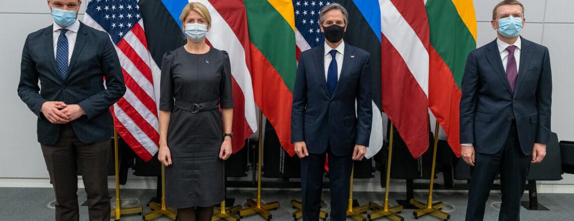 Встреча госсекретаря Блинкена с министрами иностранных дел Эстонии, Латвии и Литвы