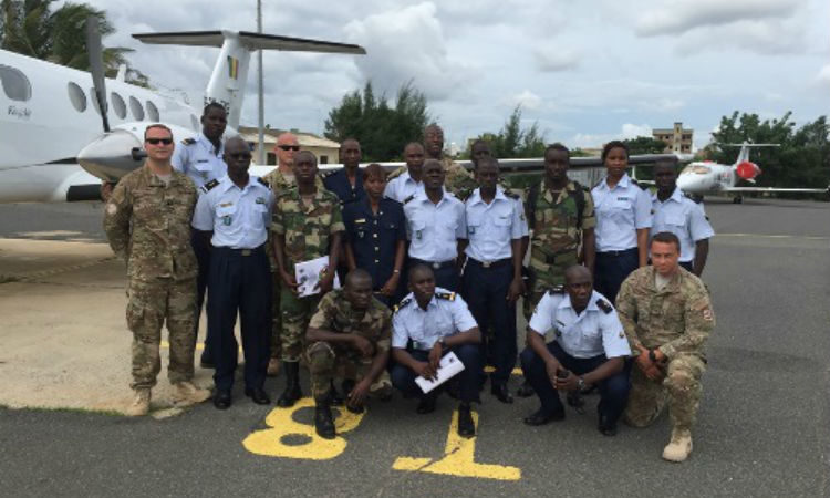 U.S. Department of Defense Provides Military Training to Senegal's Armée De l'Air