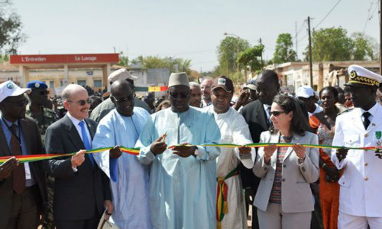 Kolda Bridge Inauguration (US Embassy photo)