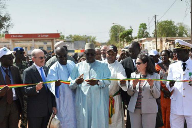 Kolda Bridge Inauguration (US Embassy photo)