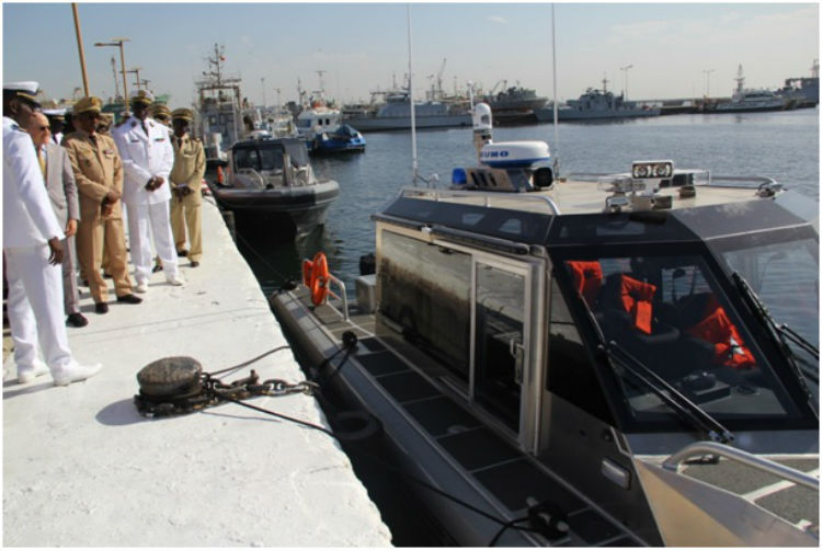 U S  Government Donates Two Patrol Ships to Senegalese Navy