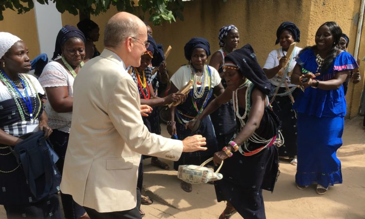 Ambassador Zumwalt Follows Chemin De La Paix in His Visit to Casamance