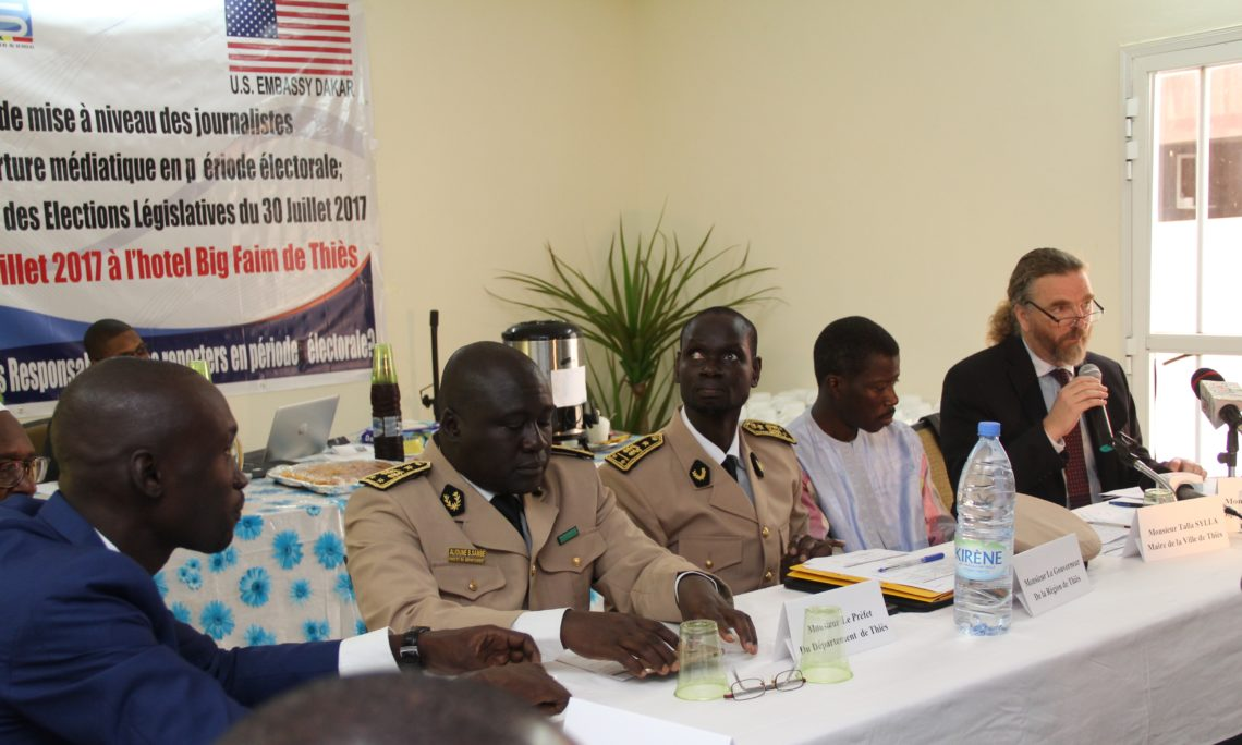 Opening Remarks of Election Coverage Workshop | U S  Embassy in Senegal
