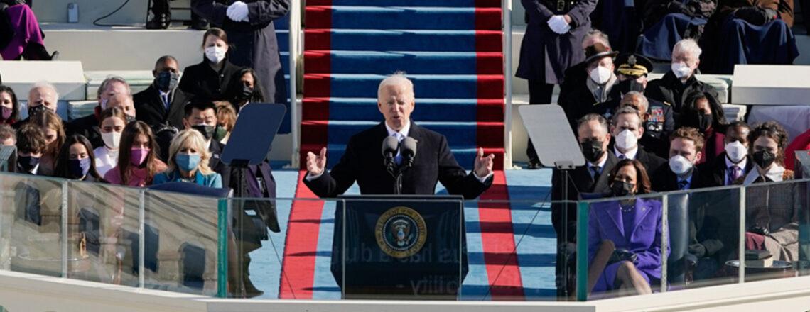 Joe Biden est investi 46ᵉ président des États-Unis