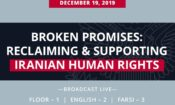 LIVESTREAM: Secretary Pompeo: Broken Promises: Reclaiming & Supporting Iranian Human Rights