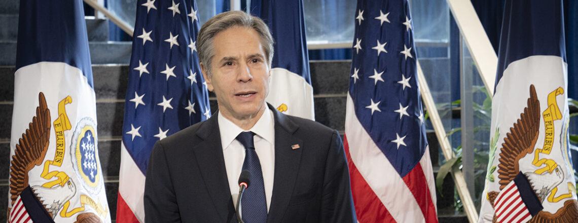 Portrait d'Antony Blinken, le nouveau secrétaire d'État des États-Unis