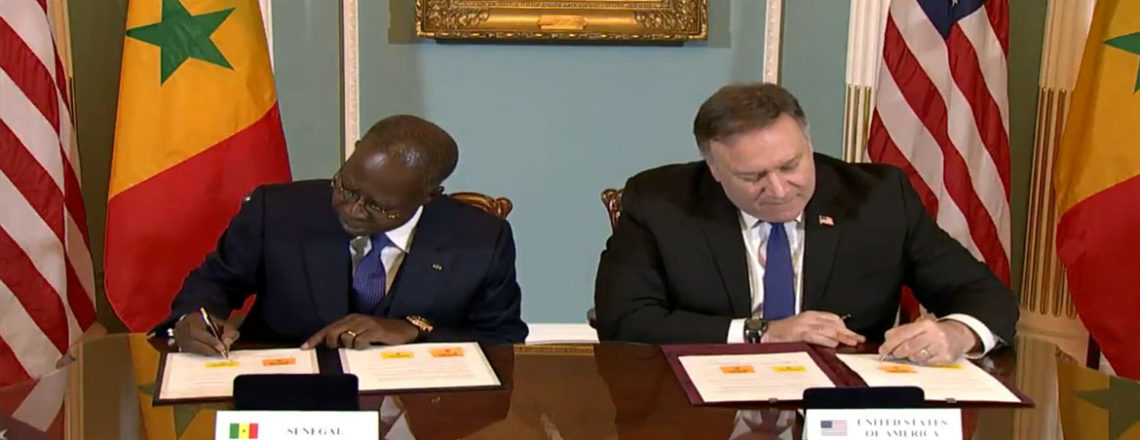 U.S., Senegal Sign New Millennium Challenge Corporation Senegal Power Compact