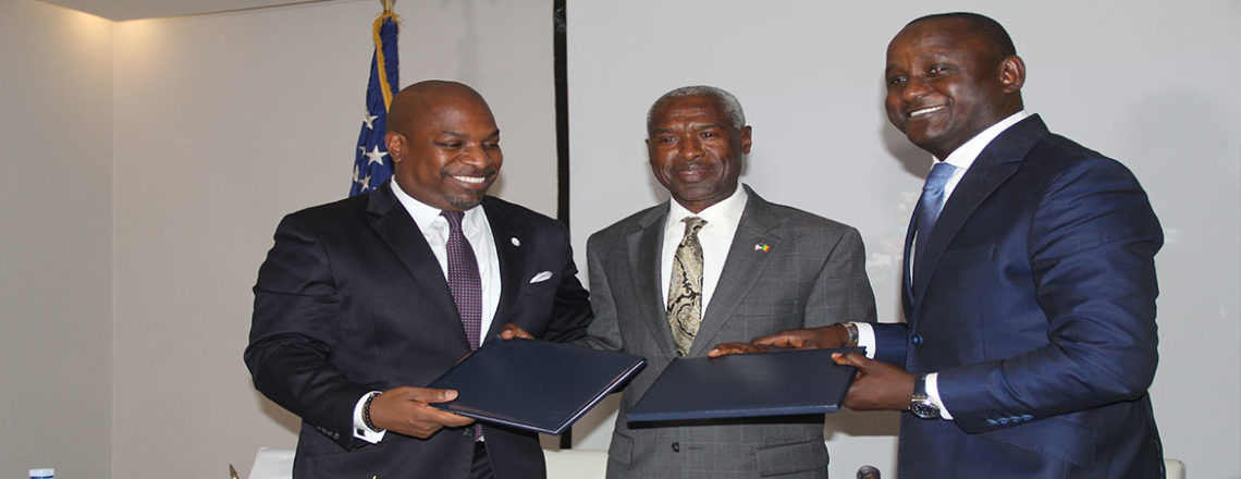 Cérémonie de Signature du Protocole d'Entente United States African Development Foundation
