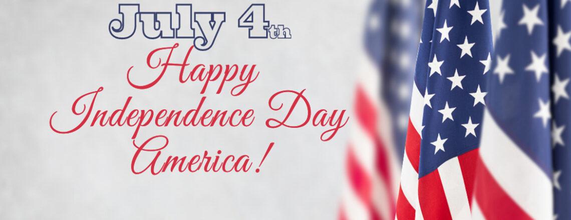 Célébration  de la fête  de l'Indépendance Américaine