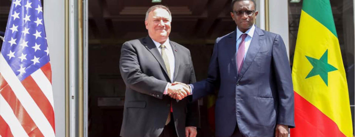 Secretary Michael R. Pompeo and Senegalese Foreign Minister Amadou Ba