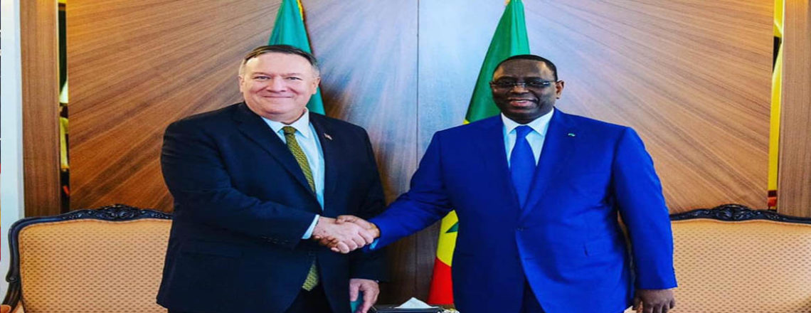 Secretary of State Michael R. Pompeo met today with Senegalese President Macky Sall