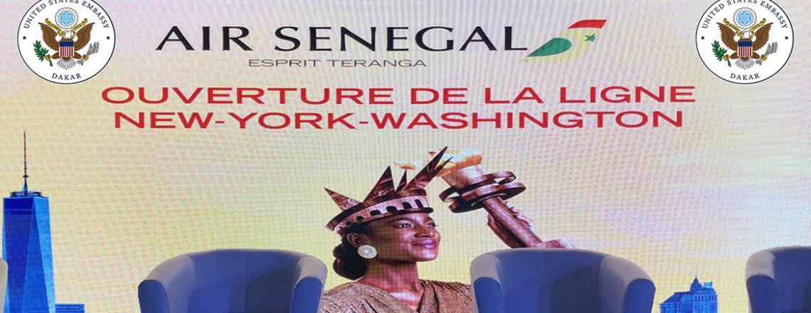 Vol inaugural d'Air Sénégal vers les Etats-Unis