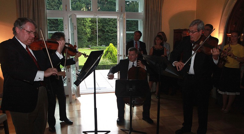 Welcome Reception for the Emerson Family | U S  Embassy & Consulates